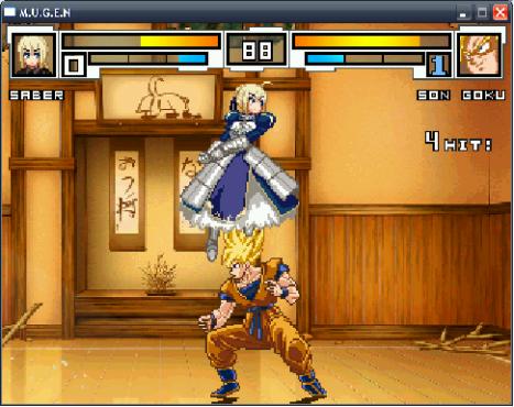 Saber vs Goku?