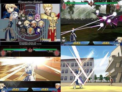 Un buen juego de peleas de Fate/Stay Night...
